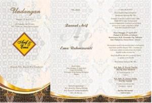 format label undangan